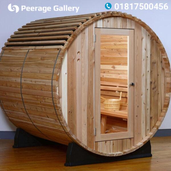 Princeton Barrel Sauna : Traditional Steam Sauna - Peerage Gallery